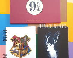 Kit papelaria Harry Potter