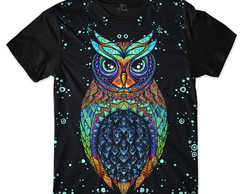 CAMISETA CORUJA OWL TRIBAL