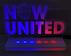 Luminária LED Now United
