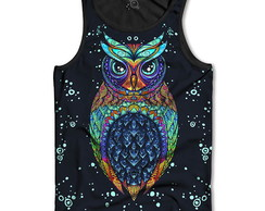 Regata Coruja Owl Tribal
