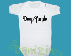 Body/T-Shirt Bebê e Infantil DEEP PURPLE