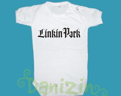 Body/T-Shirt Bebê/Infantil LINKIN PARK