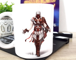 "Combo Flix ""Game Assassin's Creed"" Caneca + Capa"