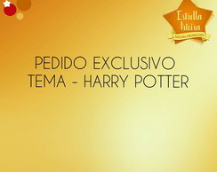 KIT FESTA EXCLUSIVO HARRY POTTER