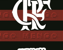 Cortina Blecaute do Flamengo com Nome - 0,70m x 1,80m
