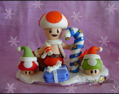 Personagem - Toad natalino