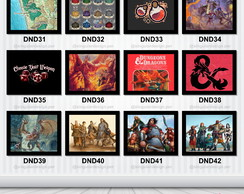 Quadros Decorativos Geek Nerd Jogos RPG Dungeons and Dragons