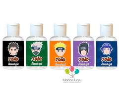 Álcool Gel 30ml - Naruto