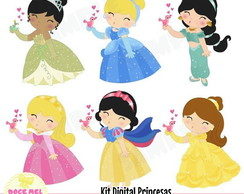 Kit Digital As Princesas Disney