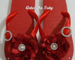 Chinelo Customizado Debutante