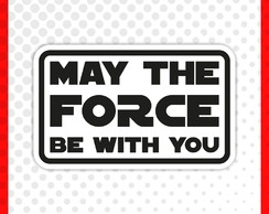Sticker May The Force
