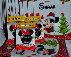 Kit Colorir Minnie Natal