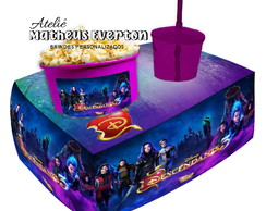 Almofada Kit Cinema Personalizada - Tema Descendants 3