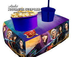 Almofada Kit Cinema Personalizada - Tema Descendants