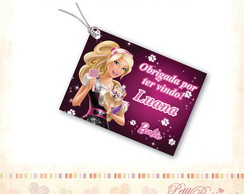 Tag Personalizado - Barbie