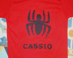 CAMISETA OU BODY Aranha