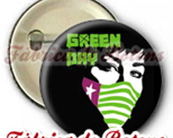 BOTON 2,5cm GREEN DAY