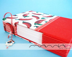 Caderno Longstitch Mini - Pepper