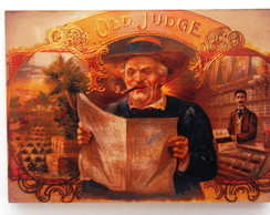 Quadro Retrô Old Judge
