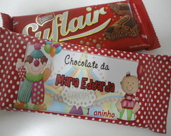 Chocolate Suflair Personalizado
