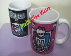 CANECAS MONSTER HIGH