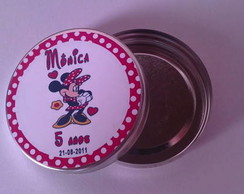 Latinha mint to be Minnie