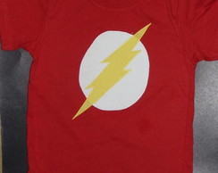 BODY OU CAMISETA THE FLASH