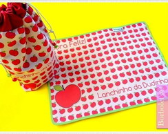 Kit lanchinho personalizado Apples