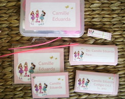 Kit Escolar 01: Barbie Esc. de Princesas