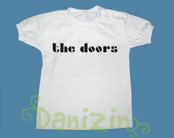 T-Shirt bebê e Infantil THE DOORS