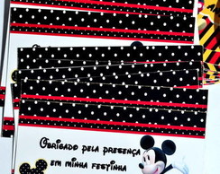 Tag de agradecimento do Mickey