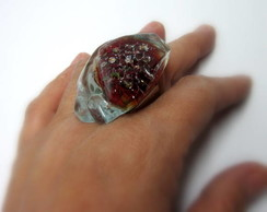 MAXI Anel de Vidro/OVERSIZED Glass Ring