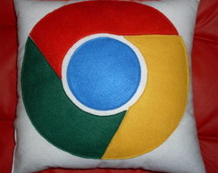 Almofada decorativa Google Chrome