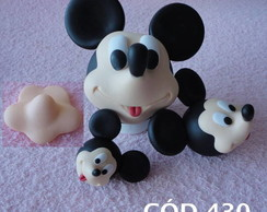 Cód 430 Molde da máscara do mickey M