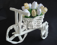 Triciclo decorativo
