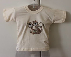 Camiseta infantil Love Cats