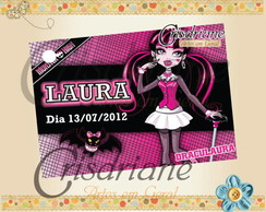 Tag Monster high Pink