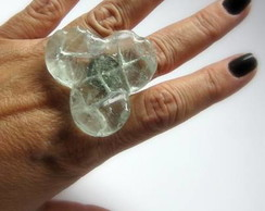 MAXI Anel -Vidro / Exclusive Glass Ring