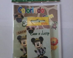 "Kit Colorir ""Mickey Safari"""