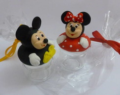 Lembrancinha Minnie ou Mickey Biscuit 3D