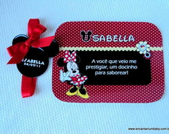 Mini marmita Minnie TAG ORELHA