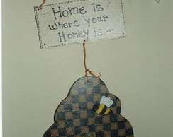 "Placa ""Home is.. D/P-03"