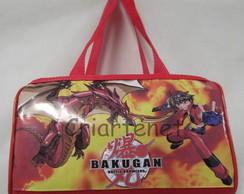 Malinha com estampa do Bakugan