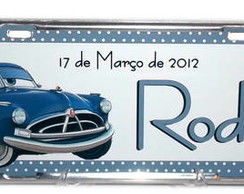 PLACA DE CARRO DECORATIVA - NASCIMENTO
