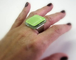 Anel de Vidro / GREEN Glass Ring