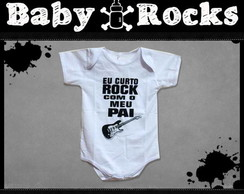 Body ou Camisetinha Rock com o Pai