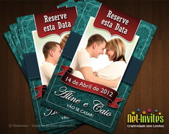 Save the Date com Ímã