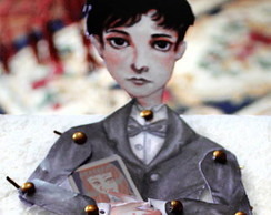Armand Paper doll