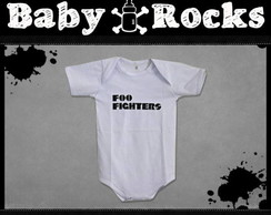 Body ou Camisetinha Foo Fighters Logo