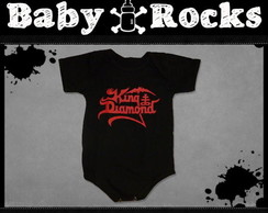 Body ou Camisetinha King Diamond